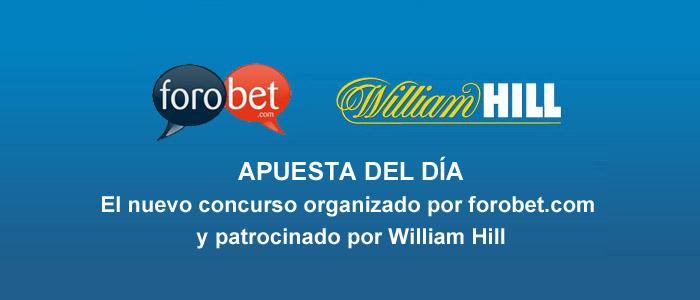 Apuesta del día - El nuevo concurso de William Hill