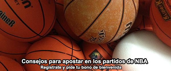 Consejos para apostar en los partidos de NBA
