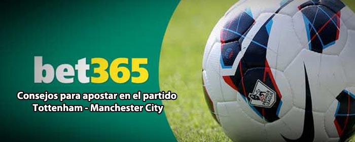 Consejos para apostar en el partido Tottenham - Manchester City