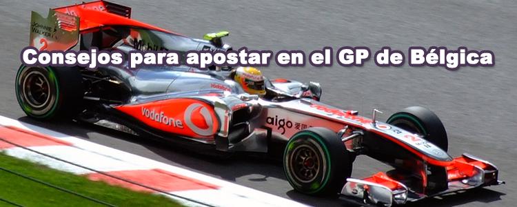 Consejos para apostar en la carrera de Formula 1 de Bélgica
