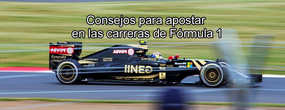 Consejos para apostar en las carreras de Fórmula 1