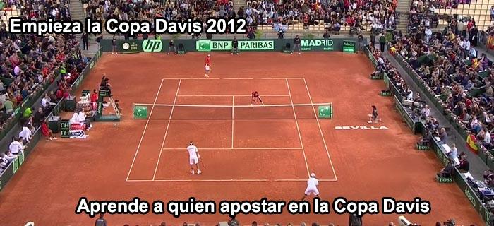 Empieza la Copa Davis 2012