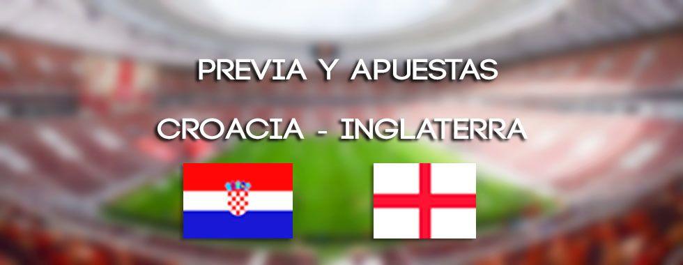 Apuestas y previa Croacia - Inglaterra