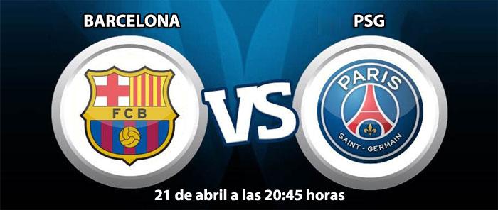 Apuesta en los cuartos de final Champions League: Barcelona - PSG