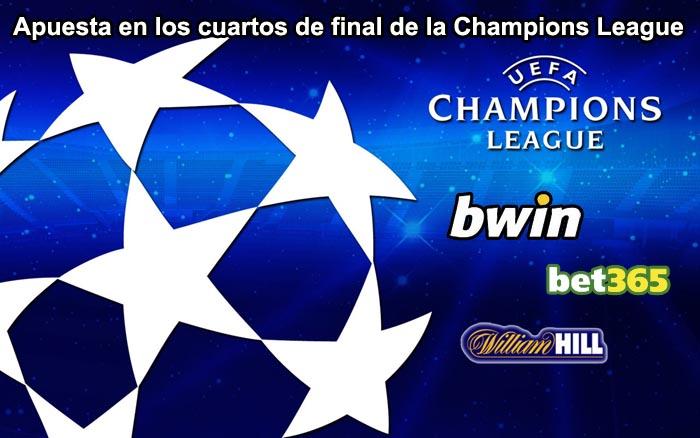 Apuesta en los cuartos de final de la Champions League