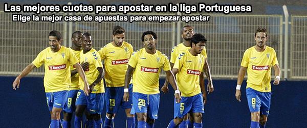 Las mejores cuotas para apostar en la liga Portuguesa