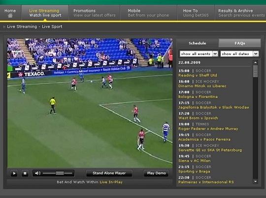 Streaming Casas Apuestas, cómo ver deportes mediante las casas de apuestas