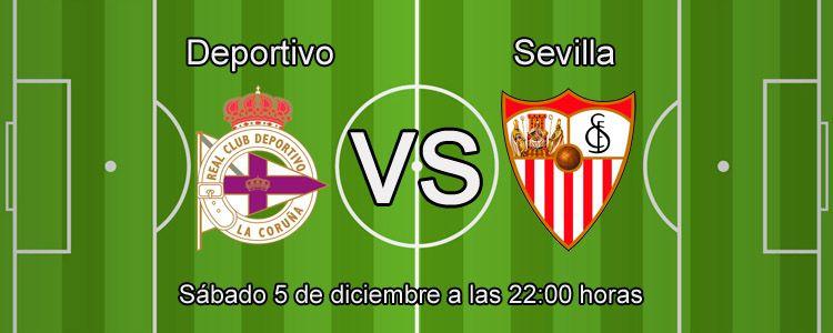Apuesta con William Hill en el partido Deportivo - Sevilla
