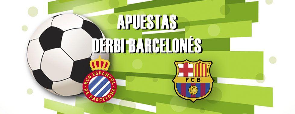Apuestas derbi Espanyol - Barcelona