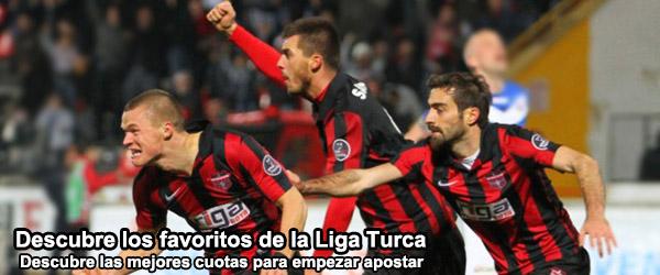 Cuotas partidos Liga Turca