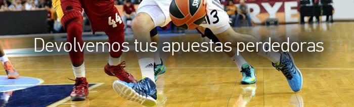 Recupera tu dinero en la Liga ACB con PAF