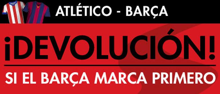 Nueva promoción Sportium para el partido Atlético de Madrid - Barcelona