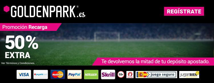 GoldenPark lanza una nueva promoción Recarga