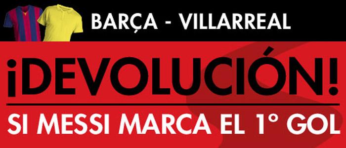 Registrate con Sportium y apuesta en el partido Barcelona - Villarreal
