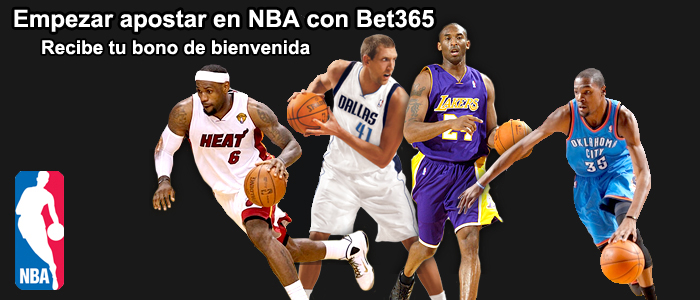 Empezar apostar en NBA con Bet365