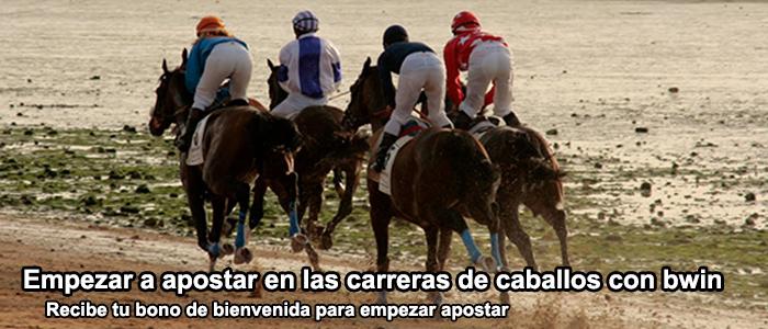 Empezar a apostar en las carreras de caballos con bwin