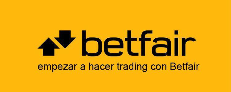 Empezar a hacer trading con Betfair