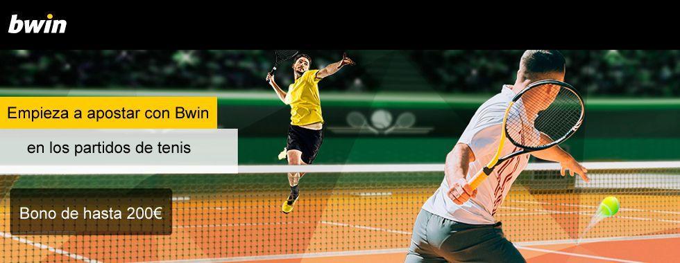 Empieza a apostar con Bwin en los partidos de tenis