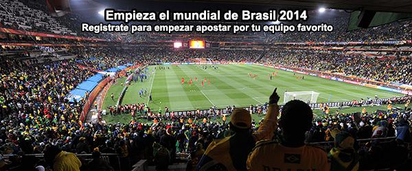 Empieza el mundial de Brasil 2014