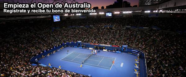 Empieza el Open de Australia 2014