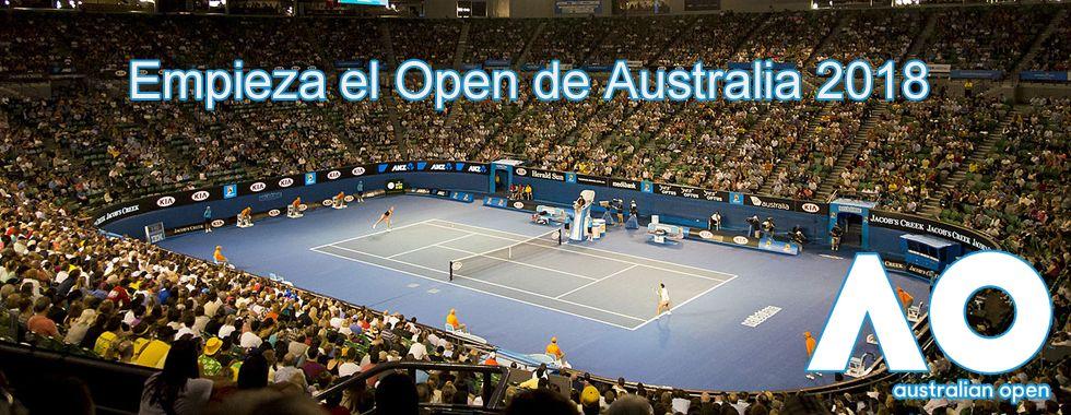 Empieza el Open Australia 2018
