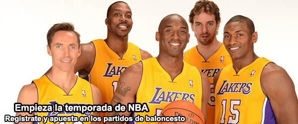 Empieza la temporada de NBA