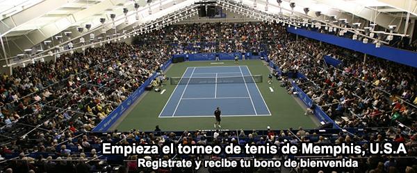 Empieza el torneo de tenis de Memphis - EE.UU