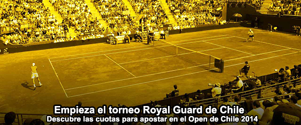 Empieza el torneo Royal Guard de Chile