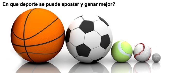 En que deporte se puede apostar y ganar mejor?