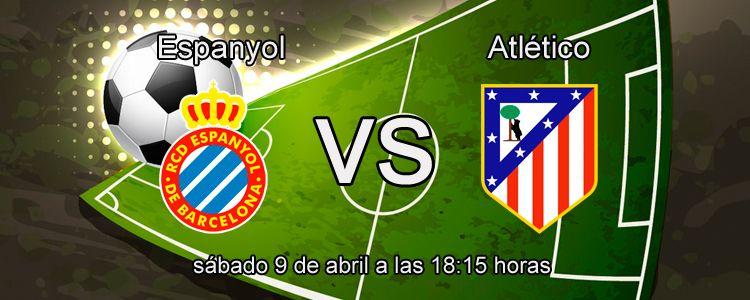 Consejos para apostar en el partido Espanyol - Atlético de Madrid