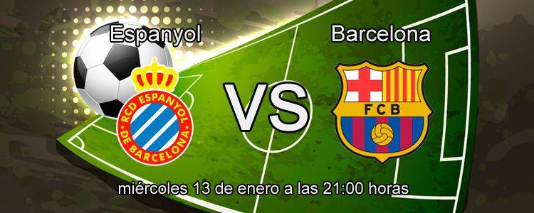 Espanyol se enfrenta al FC Barcelona en la Copa del Rey