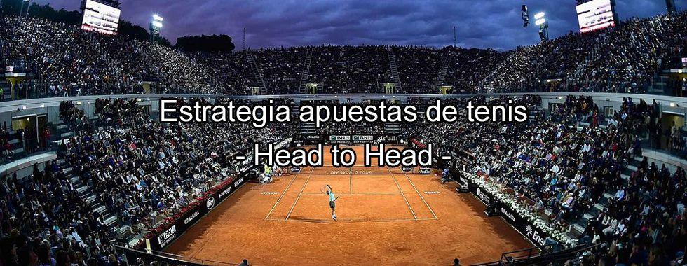 Estrategia en apuestas de tenis: el head to head