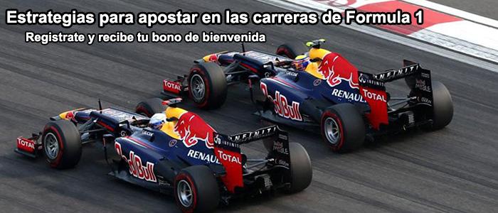 Estrategias para apostar en las carreras de Fórmula 1