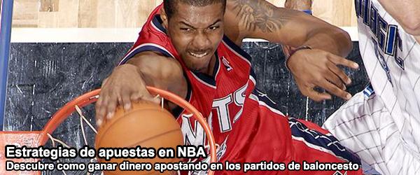 Estrategias de apuestas en NBA