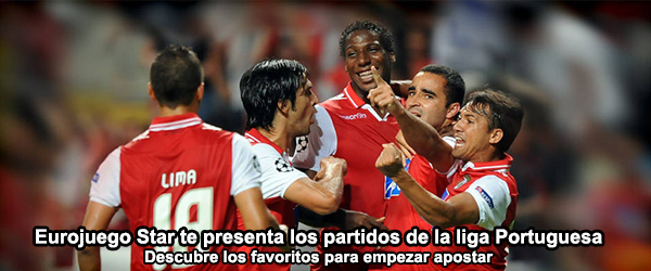 Eurojuego Star te presenta los partidos de la liga Portuguesa
