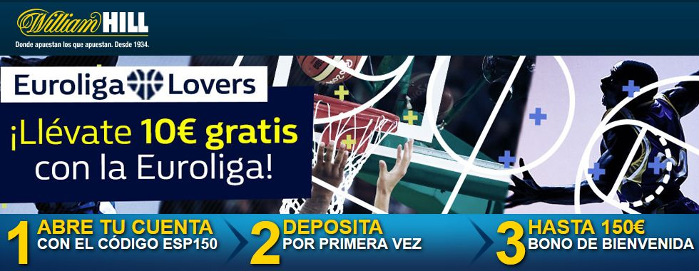 Apuesta al baloncesto con William Hill