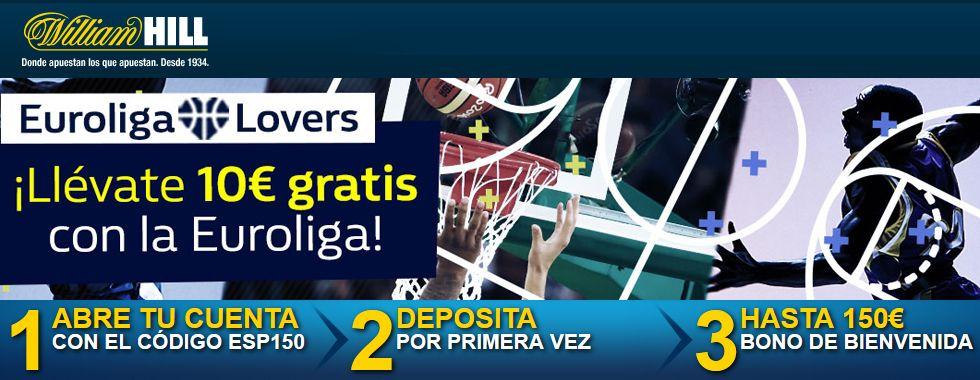 Llévate 10€ gratis con la Euroliga