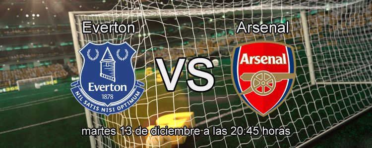 Previa del partido Everton - Arsenal