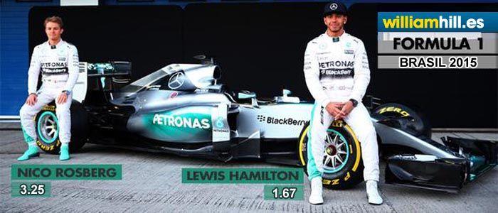Apuestas Formula 1 Brasil 2015
