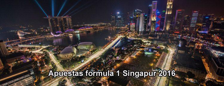 Apuestas formula 1 Singapur 2016