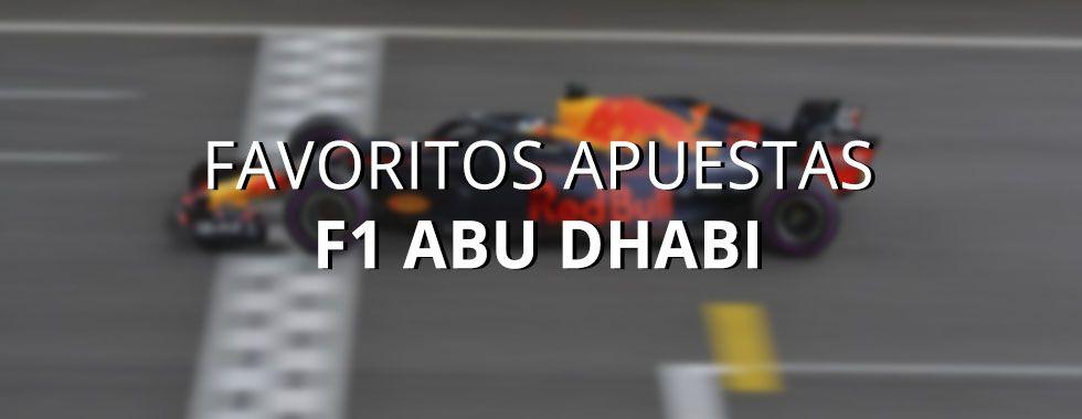 Apuestas Fórmula 1 Abu Dhabi