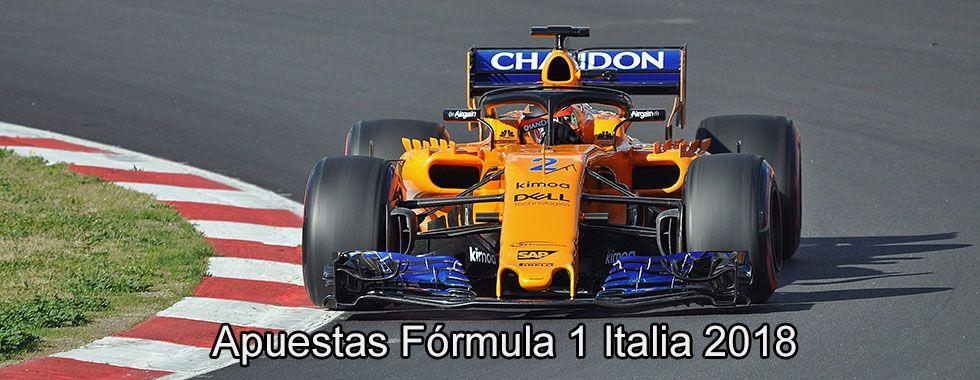 Apuestas Fórmula 1 Italia 2018