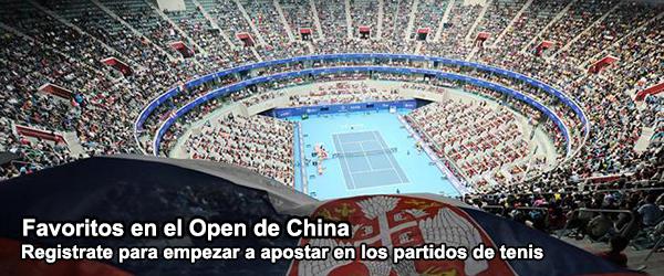 Favoritos en el Open de China