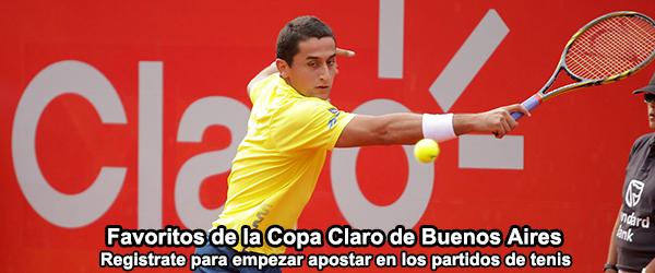 Favoritos de la Copa Claro de Buenos Aires