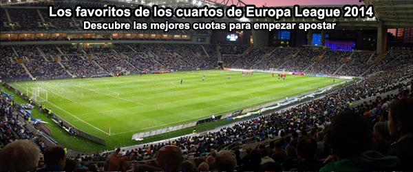 Los favoritos de los cuartos de Europa League 2014