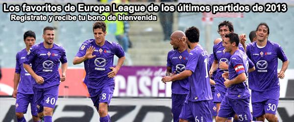 Los favoritos de Europa League de los últimos partidos del 2013