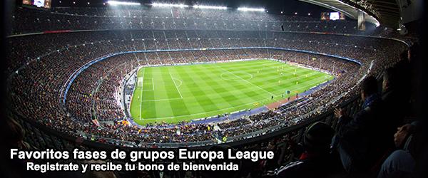 Favoritos fases de grupos Europa League