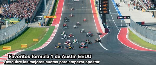 Favoritos formula 1 de Austin EEUU