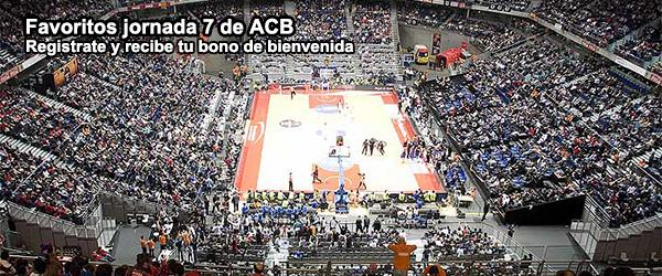 Favoritos jornada 7 de ACB
