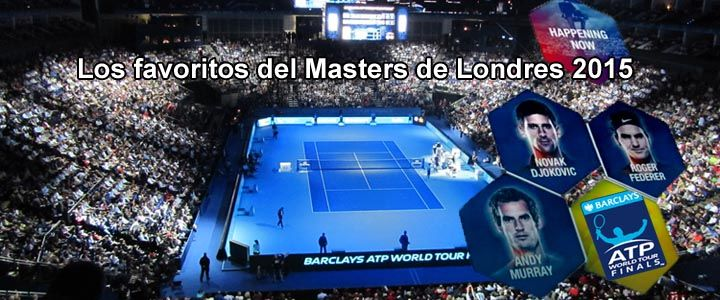 Los favoritos del Masters de Londres 2015